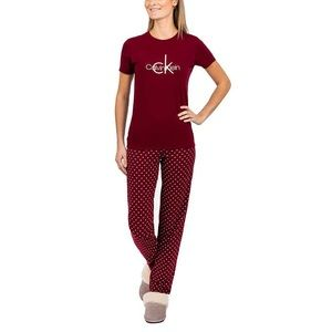 Women's 2pc Calvin Klein Pajama Set Size XL